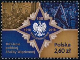 Poland 2019 Fi 4941 Mi 5091 100th Anniversary Of The Polish Prison Service - 1944-.... República
