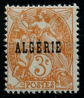 N°4 Type Blanc Neuf** - Algérie (1924-1962)