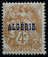 N°5 Type Blanc Neuf** - Algérie (1924-1962)