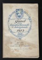 GENT * GIDS EXPO 1913 * VEEL AFBEELDINGEN - RECLAMES - PLAN EXPO - PLAN GENT * ZIE VELE AFBEELDINGEN - Gent