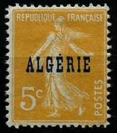 N°7 Type Semeuse Neuf** - Algérie (1924-1962)