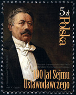 Poland 2019 Fi 4942 Mi 5092 100 Years Of The Legislative Sejm - 1944-.... República