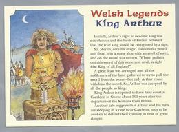 UK.- WALES. WELSH LEGENDS. KING ARTHUR - Wales