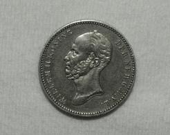Silber/Silver Niederlande/Netherlands Willem II, 1849, 25 Cents Vz/xf - [ 3] 1815-…: Königreich Der Niederlande