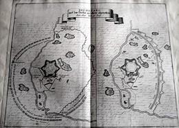 HISTORISCHE DEUSTCH* (1685/19 August) < Aufschwung Von Ersékúdjvár ( NEUHAEUSEL ) - Cartes