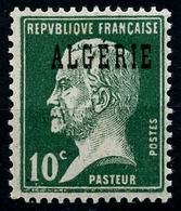 N°9 Type Pasteur Neuf** - Algérie (1924-1962)
