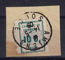 FRANCE - GREVE De AMIENS TIMBRE à 10C Sur FRAGMENT De LETTRE Du 14.5.1909 (SOMME) - Strike Stamps