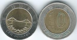 Hong Kong - SAR - 10 Dollars - 1994 (KM70) & 1997 (KM78) - Hong Kong