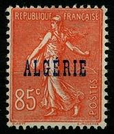 N°28 Type Semeuse Neuf** - Algérie (1924-1962)