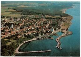 Ak Hasle, Bornholm, Luftbild Mit Hafen, Gelaufen 1980 (18f) - Dänemark
