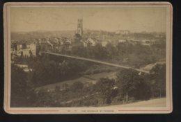 SUISSE - FRIBOURG - VUE GENERALE -  PHOTOGRAPHIE A. GARCIN, GENEVE - FORMAT 16.5 X 10.5 CM - Places