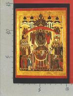 CARTOLINA NV ITALIA - 1989 1990 MOSTRA ICONE RUSSE IN VATICANO - Protezione Della Vergine - 10 X 15 - Belle-Arti