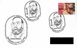 SPAIN. POSTMARK. WRITER JOSE RAMON LOPEZ DE LOS MOZOS. GUADALAJARA 2018 - Marcofilia - EMA ( Maquina De Huellas A Franquear)