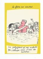 ILLUSTRATION DORVILLE - HUMOUR - LA FOIRE AUX CANCRES -La Polygamie Est Une Maladie - Autres Illustrateurs