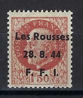 France, Libération, Les Rousses ( Jura ), N° 7 ** TB - Liberación