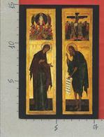 CARTOLINA NV ITALIA - 1989 1990 MOSTRA ICONE RUSSE IN VATICANO Madre Di Dio Trasfigurazione Giovanni Precursore 10 X 15 - Belle-Arti