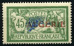 N°21 Type Merson Neuf** - Algérie (1924-1962)