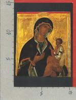 CARTOLINA NV ITALIA - 1989 1990 MOSTRA ICONE RUSSE IN VATICANO - Madre Di Dio Georgiana - 10 X 15 - Belle-Arti
