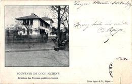 SOUVENIR DE COCHINCHINE ,DIRECTION DES TRAVAUX PUBLICS SAIGON   REF 59068A - Viêt-Nam