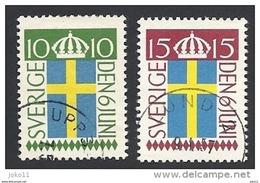 Schweden, 1955, Michel-Nr. 404-405, Gestempelt - Schweden