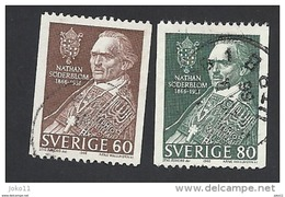Schweden, 1966, Michel-Nr. 544-545, Gestempelt - Schweden