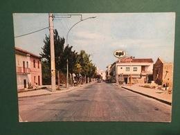 Cartolina Cancello Arnone - Caserta - Via Consolare - 1977 - Caserta