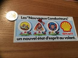 AUTOCOLLANT, Sticker «Les Nouveaux Conducteurs, Un Nouvel état D'esprit Au Volant - Shell » - Stickers