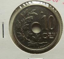 Belgium 10 Centimes 1930 Varnished - 1909-1934: Albert I