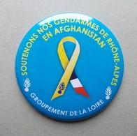 - DECAPSULEUR - Soutenons Nos Gendarmes De Rhône-Alpes En Afghanistan - Groupement De La Loire - - Tire-Bouchons/Décapsuleurs