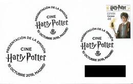 SPAIN. POSTMARK. HARRY POTTER. 2018 - Marcofilia - EMA ( Maquina De Huellas A Franquear)