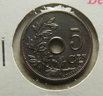 Belgium 5 Centimes 1905 Varnished - 1865-1909: Leopold II