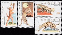 Namibia - 2018 - Small Felines Of Namibia - Mint Stamp Set - Namibia (1990- ...)