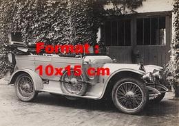 Reproduction D'une Photographie Ancienne D'une Automobile De Marque Landau - Reproductions