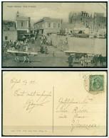 CARTOLINA - V8579 COLONIE ITALIANE TRIPOLITANIA 1912 Cartolina Illustrata (Tripoli Souk El Muscir) Affrancata Con Leoni - Libia