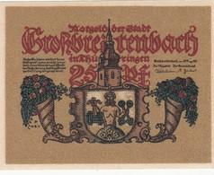 Billet Allemand - 25 Pfennig - Grossbreitenbach In Thüringen 1921 - [11] Emissions Locales