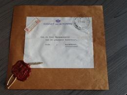 Zegelstempel,lakstempel,Kabinet Van De Koning,aan De Burgemeester Van Kalmthout,Paleis Te Brussel. - Documents Historiques