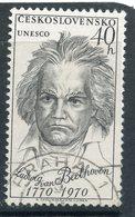 Y85 Czechoslovakia 1970 1924 UNESCO. Ludwig Van Beethoven (1770-1827). Music. Composer - Music