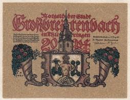 Billet Allemand - 20 Pfennig - Grossbreitenbach In Thüringen 1921 - [11] Emissions Locales