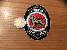 AUTOCOLLANT, Sticker «PEUGEOT 1882 1982 » - Stickers