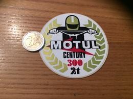 AUTOCOLLANT, Sticker «MOTUL CENTURY 300 2t» (moto, Huile, Oil) - Stickers