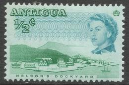 Antigua. 1966-70 QEII. ½c MH. P11½X11 SG 180 - Antigua & Barbuda (...-1981)