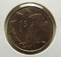 Namibia 1 Dollar 1996 Varnished - Namibië
