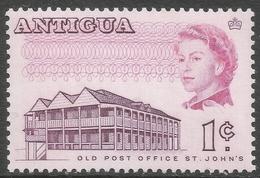 Antigua. 1966-70 QEII. 1c MNH. P13½ SG 181a - Antigua & Barbuda (...-1981)