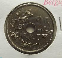 Belgium 25 Centimes 1922 Varnished - 05. 25 Centimes