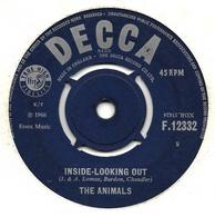 """The Animals   """"  Inside-looking Out  """" - Vinyles"""