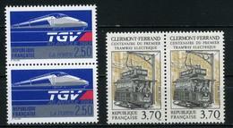 FRANCE      Paires     N° Y&T  2607 Et 2608   ** - France