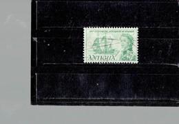 ANTIGUA 1967- USED 300 YRS SETTLEMENT OF BARBUDA  1 STAMPS OF 25 C  SCOTT NR. 197 PERFECTBK BL COM - Antigua And Barbuda (1981-...)