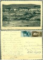 CARTOLINA - V8656 COLONIE ITALIANE ERITREA 1937 Cartolina Illustrata (Dire Daua Villaggio Indigeno) Affrancata - Eritrea