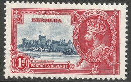 Bermuda. 1935 KGV Silver Jubilee. 1d MH. SG 94 - Bermuda
