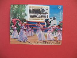 Bloc Feuillet     Polynésie Française  1996    200 F  N° 21 - Blokken & Velletjes